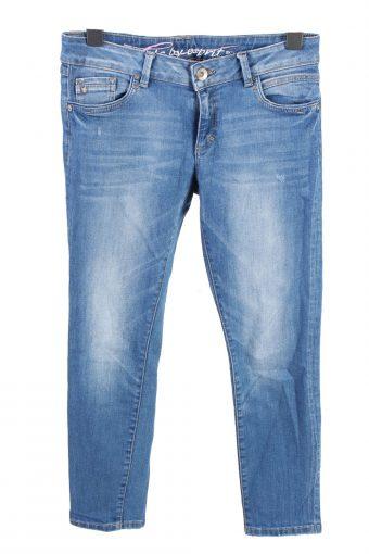Edc By Esprit Mid Waist Womens Denim Jeans W32 L28