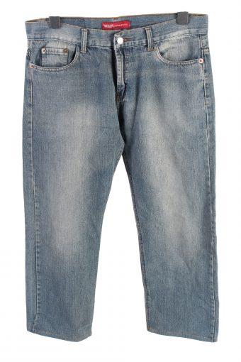 Levi's 501 Mid Waist Womens Jeans Stonewashed W34 L27