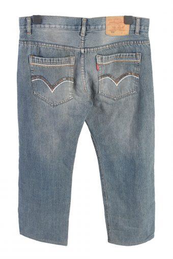 Vintage Levis 501 Mid Waist Womens Denim Jeans W34 L27 Mid Blue J4580-126521