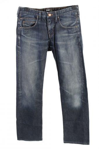 Mustang Michigan Straight Leg Mid Waist Jeans W32 L32