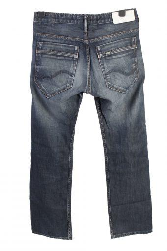 Vintage Lee Mid Waist Unisex Denim Jeans W31 L32 Mid Blue J4584-126537