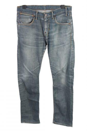 Mustang Straight Leg Mid Waist Unisex Jeans W32 L33