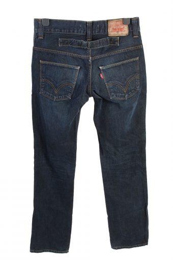 Vintage Levis Mid Waist Unisex Denim Jeans W32 L33.5 Dark Blue J4594-126577
