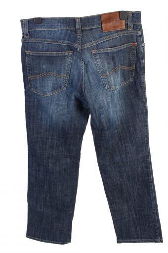 Vintage Mustang Tramper Mid Waist Unisex Denim Jeans W33 L29.5 Mid Blue J4602-126609