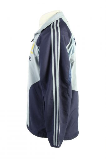 Vintage Adidas Mens Full Zip Tracksuit Top 34/36 Blue -SW2506-124802