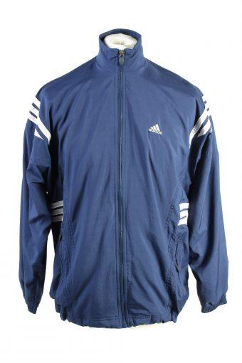 Adidas Track Top 90s Retro High Neck Navy M