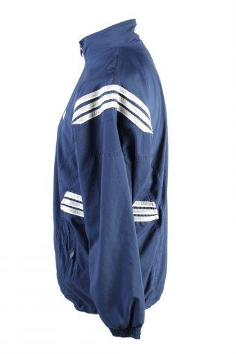 Vintage Adidas Mens Full Zip Tracksuit Top M Navy -SW2535-125531