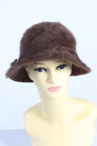 Vintage Fashion Womens Brim Furry Hat