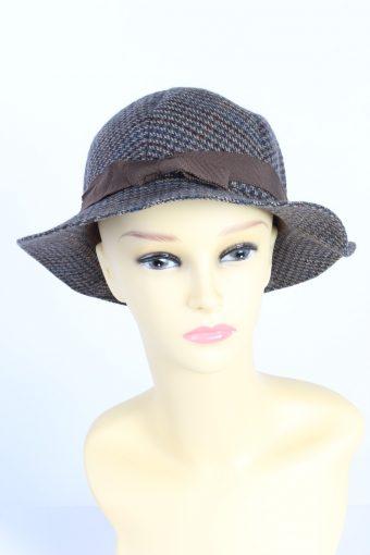 Vintage Fashion Womens Trilby Ribbon Lined Hat