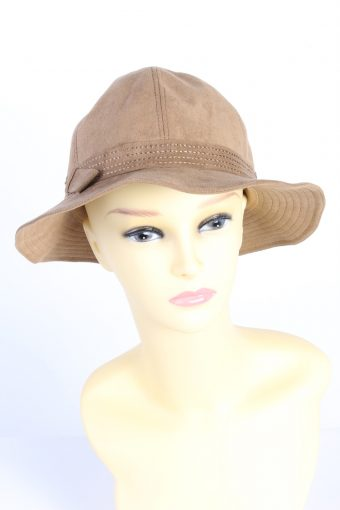 Vintage Fashion Womens Trilby Suede Lined Hat