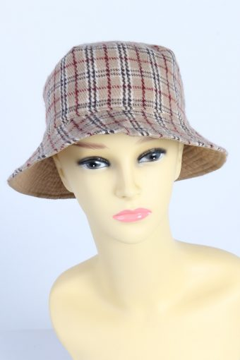 Vintage Fashion Womens Brimmed Soft Lined Winter Hat