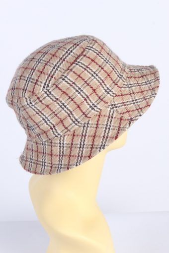 Vintage 1980s Fashion Womens Brimmed Soft Lined Winter Hat Multi HAT1390-127740