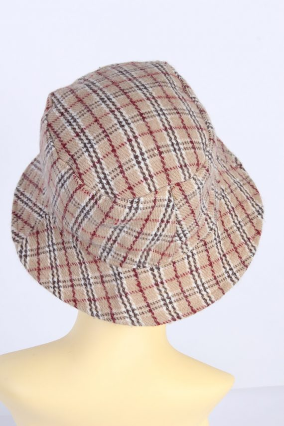 Vintage 1980s Fashion Womens Brimmed Soft Lined Winter Hat Multi HAT1390-127741