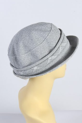 Vintage 1980s Fashion Womens Brimmed Soft Lined Winter Hat Multi HAT1391-127744