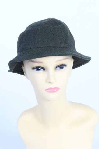 Vintage Fashion Womens Brimmed Lined Hat