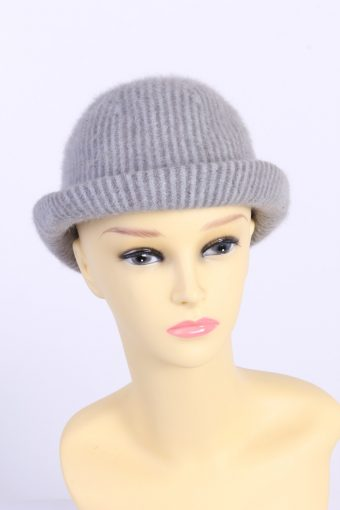 Vintage Fashion Womens Brimmed Furry Lined Hat