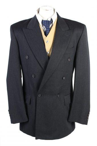 Men Blazer Jacket Benvenuto Classic Lined Wool Black XL