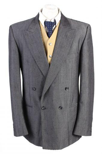 Blazer Jacket Hendriksen Classic Lined Wool Blended Grey XXL