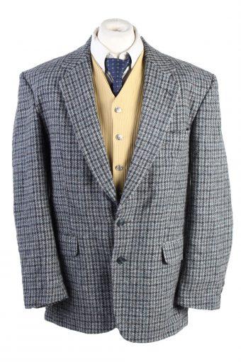 Harris Tweed Blazer Jacket Grey XL