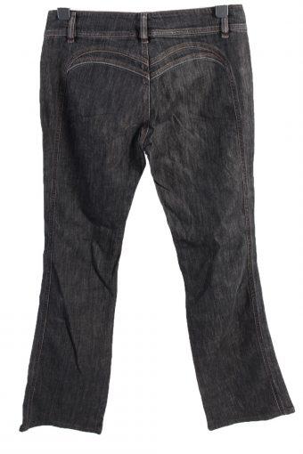 Vintage Diesel Mid Waist Womens Denim Jeans W32 L33 Black J4612-127126