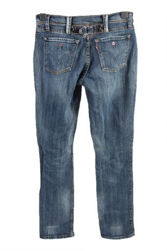 Vintage Levis Mid Waist Womens Denim Jeans W30 L33.5 Mid Blue J4614-127134