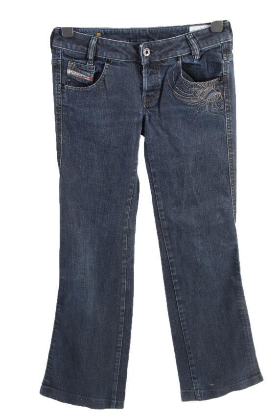 Vintage Diesel Ryoth-n Low Waist Womens Denim Jeans W29 L29.5 Mid Blue J4615-0