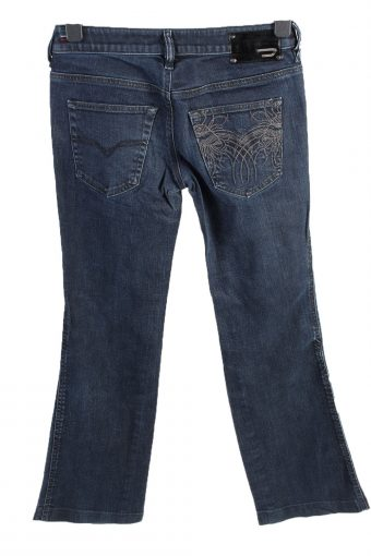 Vintage Diesel Ryoth-n Low Waist Womens Denim Jeans W29 L29.5 Mid Blue J4615-127138