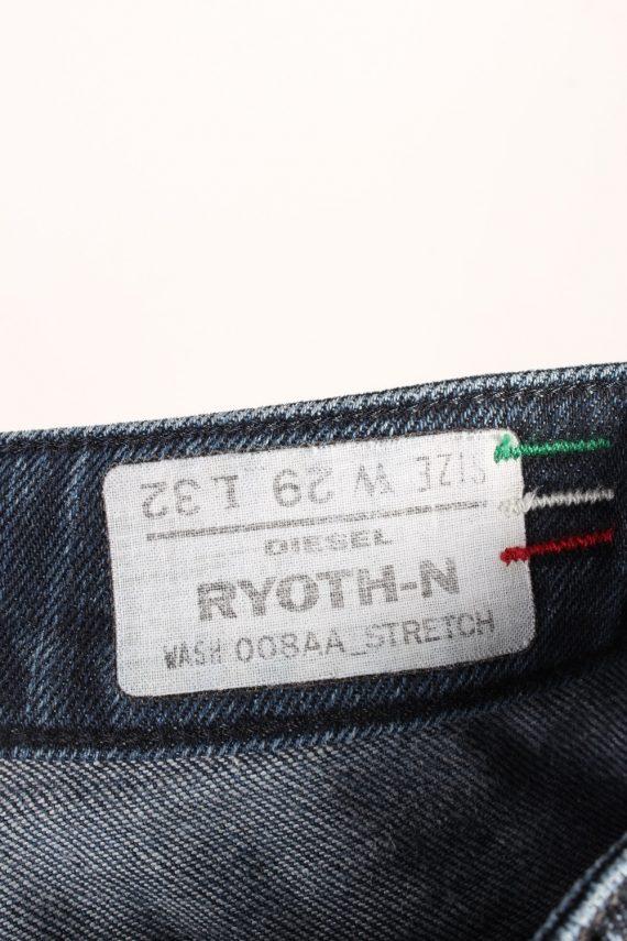 Vintage Diesel Ryoth-n Low Waist Womens Denim Jeans W29 L29.5 Mid Blue J4615-127140