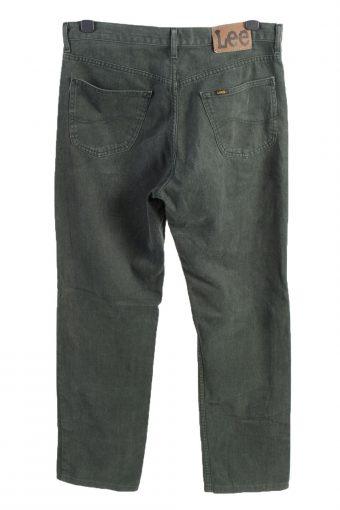 Vintage Lee Chicago High Waist Unisex Denim Jeans W34 L32 Green J4621-127162