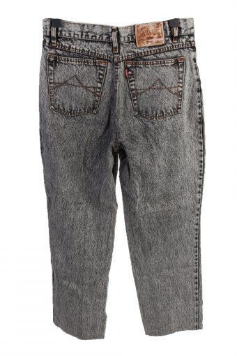 Vintage Diesel High Waist Unisex Denim Jeans W33 L28 Grey J4622-127166