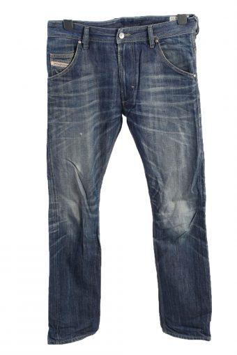 Jeans Wear Straight Leg High Waist Unisex Jeans W34 L25