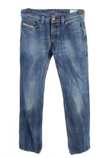 Mustang Straight Leg High Waist Unisex Denim Jeans W36 L33