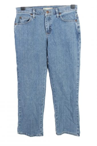 Lee Relaxed Straight Leg Mid Waist Womens Jeans W30 L29
