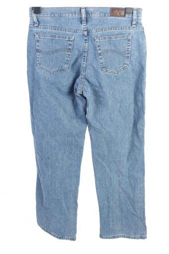 Vintage Lee Relaxed Straight Leg Mid Waist Womens Denim Jeans W30 L29 Mid Blue J4644-127596