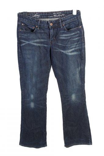 Levi's Boot Cut Low Waist Womens Denim Jeans W29 L305