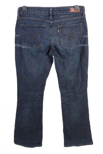 Vintage Levis Boot Cut Low Waist Womens Denim Jeans W29 L30.5 Dark Blue J4647-127608