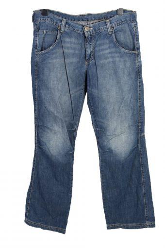Mustang Mid Waist Unisex Denim Jeans W35 L33