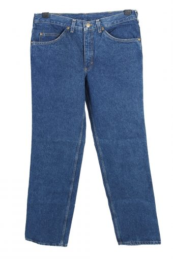 Mustang Mid Waist Straight Leg Unisex Denim Jeans W29 L30