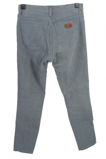 Vintage Mustang Roxanne High Waist Unisex Denim Jeans W31 L31 Turquoise Green J4659-127656