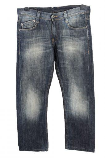 Mustang Michigan High Waist Straight Denim Jeans W33 L28