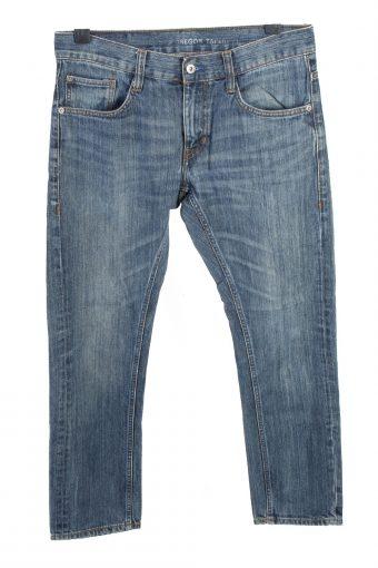 Mustang Mid Waist Straight Unisex Denim Jeans W31 L34