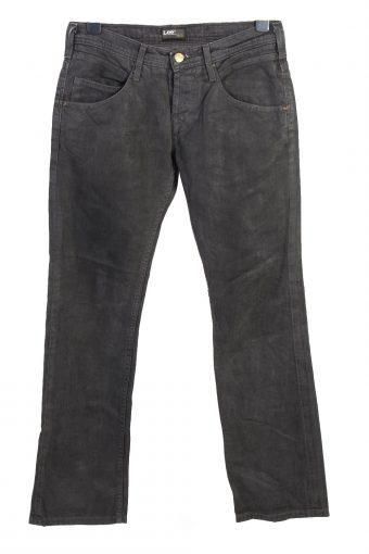 Vintage Lee Straight Leg Mid Waist Unisex Denim Jeans W32 L32 Charcoal J4687-128444