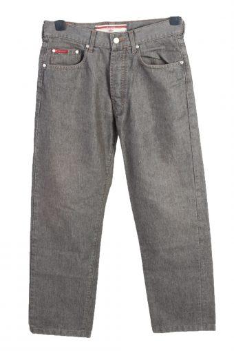 Vintage Lee Cooper Straight Leg High Waist Unisex Denim Jeans W30 L28 Grey J4696-128482