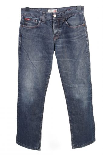 Vintage Lee Cooper LC120 Narrow Mid Waist Unisex Denim Jeans W31 L30.5 Dark Blue J4697-128486