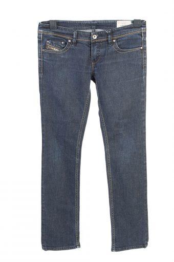 Vintage Diesel Lowky Stretch Low Waist Womens Denim Jeans W30 L30 Dark Blue J4713-128669