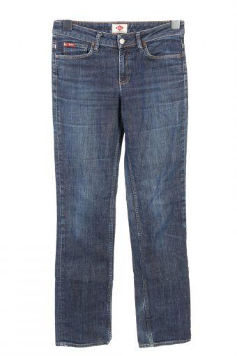 Vintage Lee Cooper Straight Leg Mid Waist Womens Denim Jeans W28 L33 Dark Blue J4714-128673