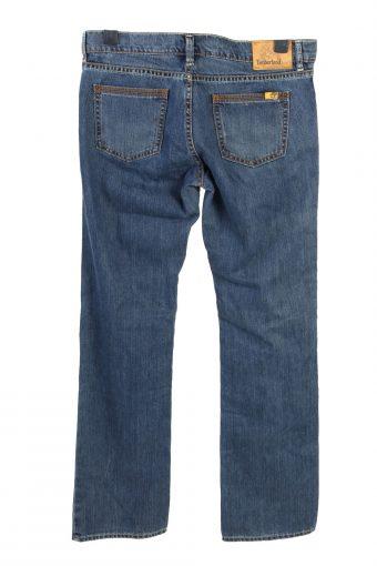 Vintage Timberland Straight Leg Low Waist Womens Denim Jeans W34 L34 Mid Blue J4757-129118