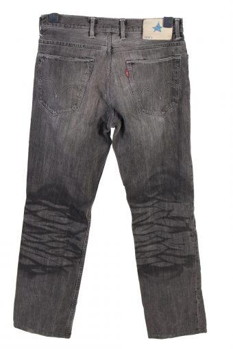 Vintage Levis Bluestar Mid Waist Womens Denim Jeans W30 L29.5 Charcoal J4759-129126
