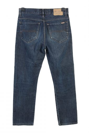 Vintage Rica Lewis Mid Waist Straight Fit Mens Denim Jeans W30 L29.5 Mid Blue J4761-129146