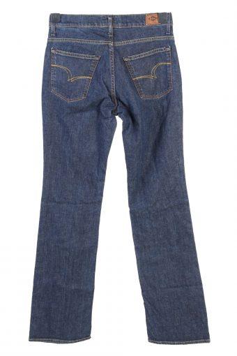 Vintage Lee Cooper Low Waist Boot Cut Womens Denim Jeans W28 L33.5 Dark Blue J4792-129272